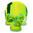 Swarovski Skull 2856 Ultra Lime AB