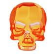 Swarovski Skull 2856 Ultra Orange AB