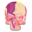 Swarovski Skull 2856 Ultra Pink AB
