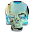 Swarovski Skull 2856 Crystal Verde